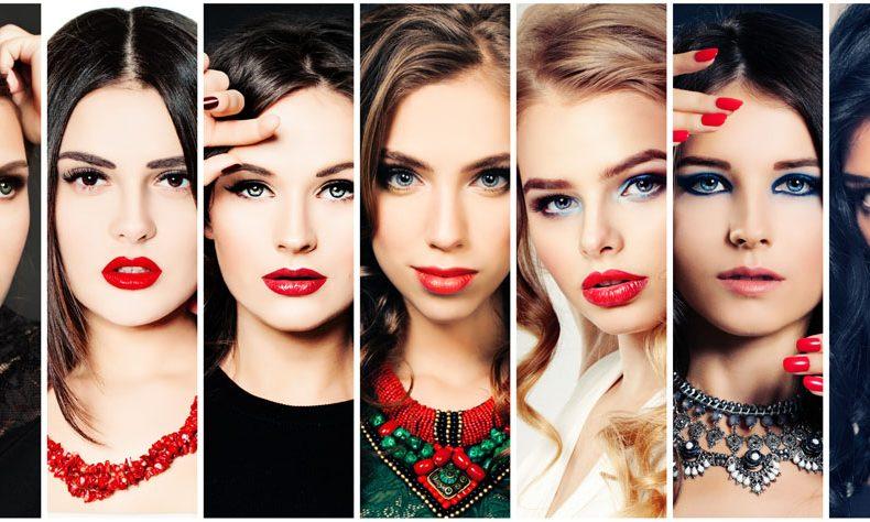 色々な美人女性